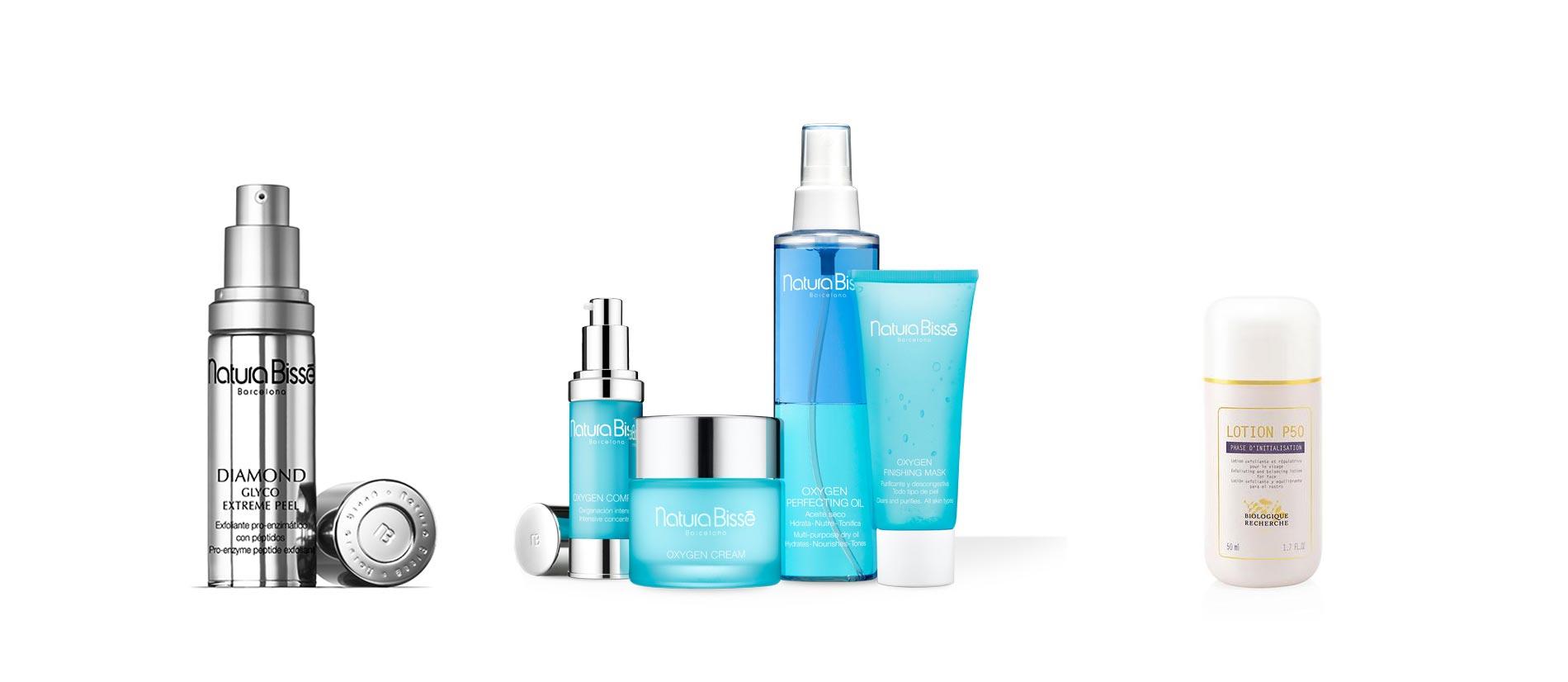Productos cosméticos para regenerar la piel