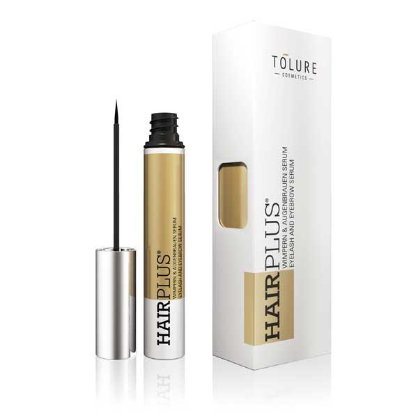 Tolure Cosmetics Serum 2 en 1 para pestañas y cejas